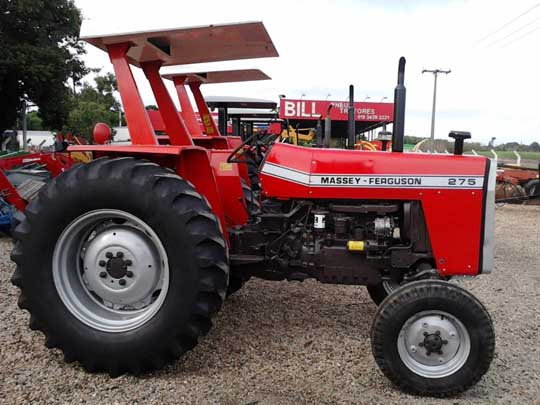 275 Massey Ferguson Tractors