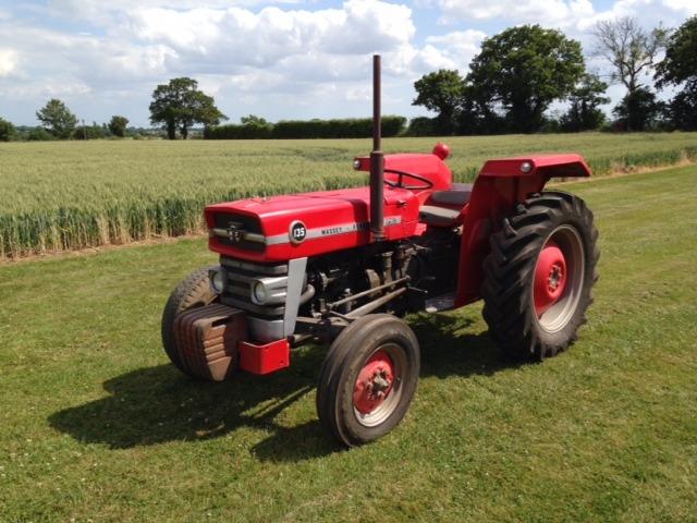 Massey Ferguson 135 Tractors