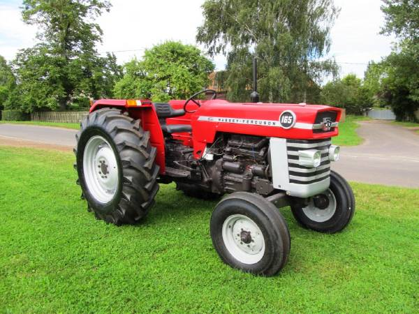 Mf Tractor 165 Value : Massey ferguson mf model tractors reviews mileage 【