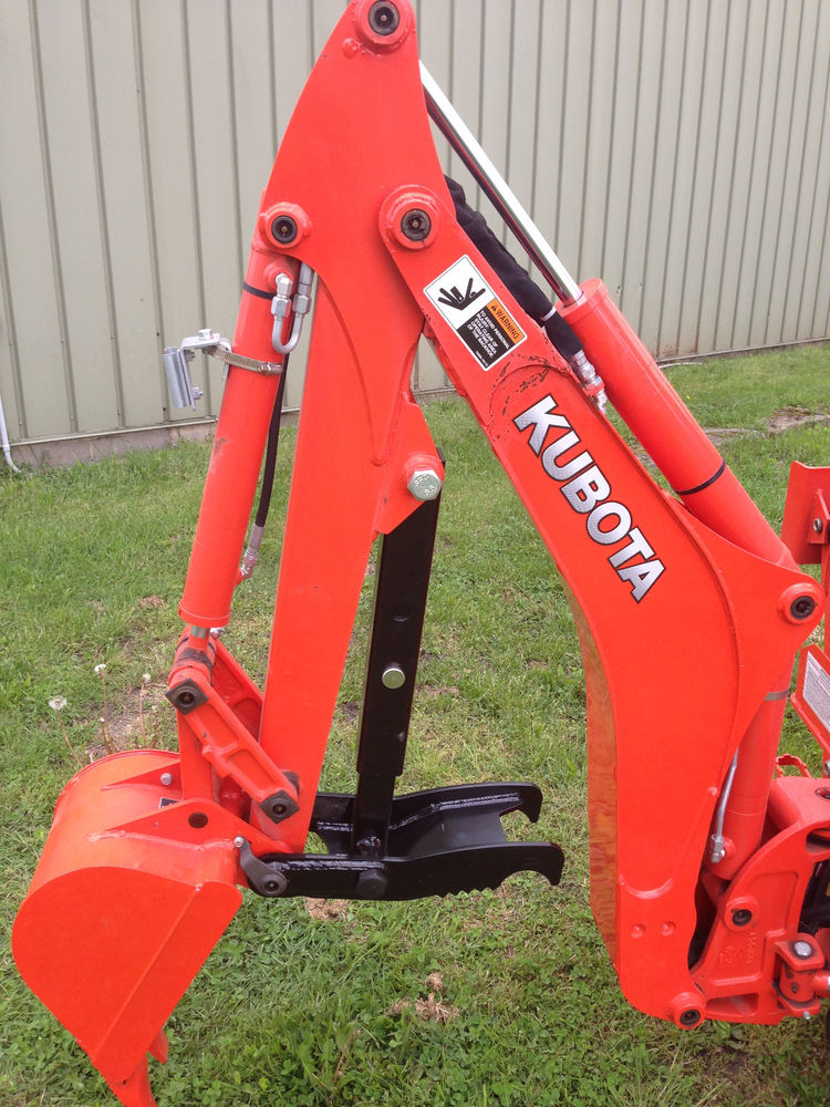 Backhoe of kubota B30030 tractor