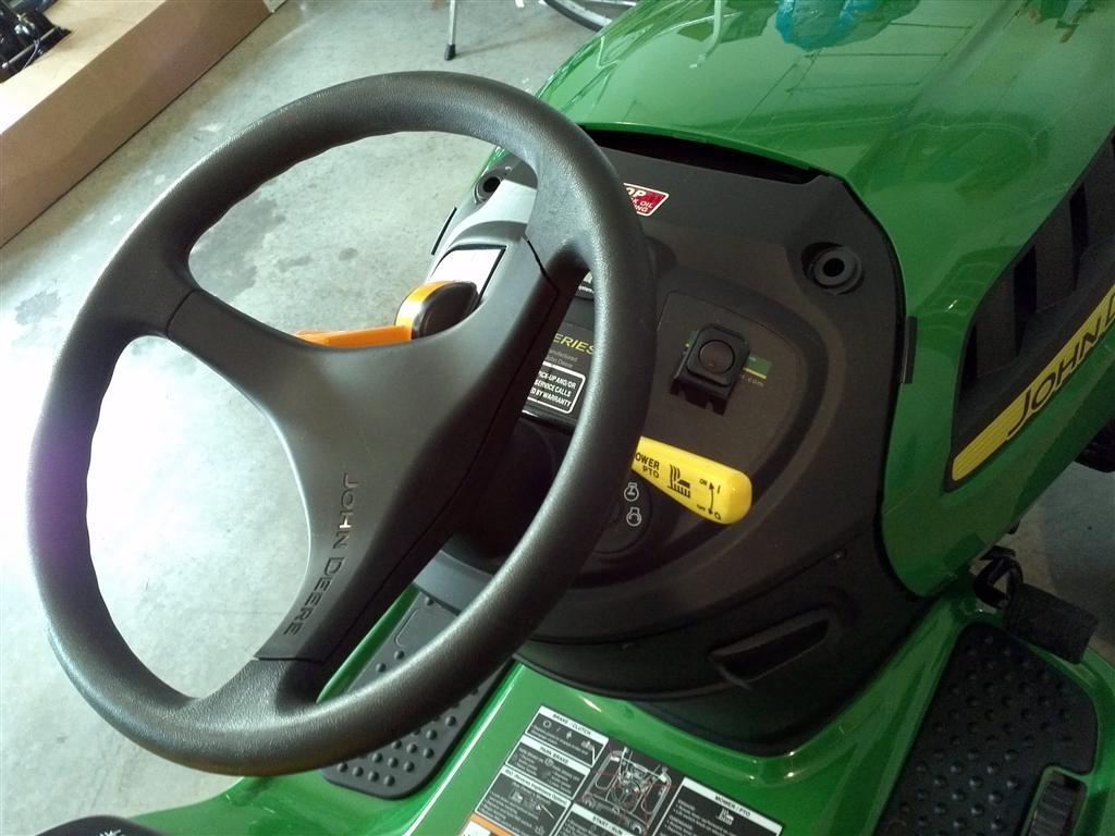 D110 Steering