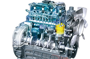 Kubota M6060 Tractor Engine Specification