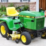 John Deere 318 Vintage Lawn Mower Key Features Review Parts