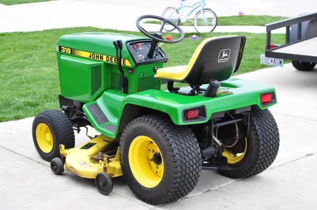 John Deere 318 >> John Deere 318 Vintage Lawn Mower Key Features Review Parts