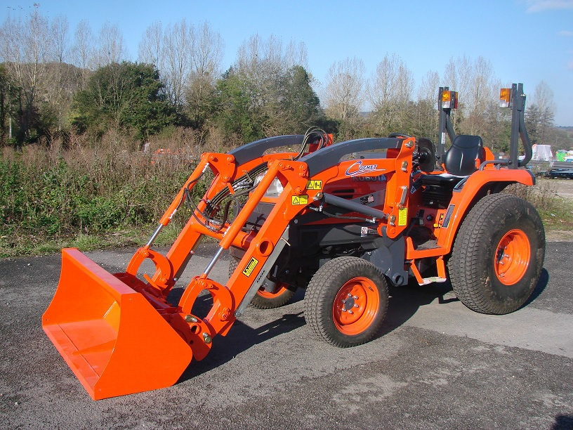 Kubota Tractor Loader Forklift : Kubota b price attachments specs features review images
