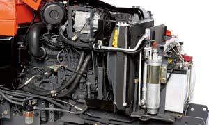 Kubota B3030 tractor Engine