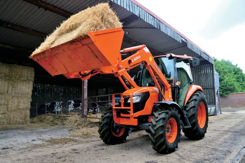 Kubota M6060 Tractor Hydraulic System