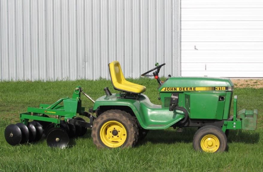 john deere 318 Lawnmower
