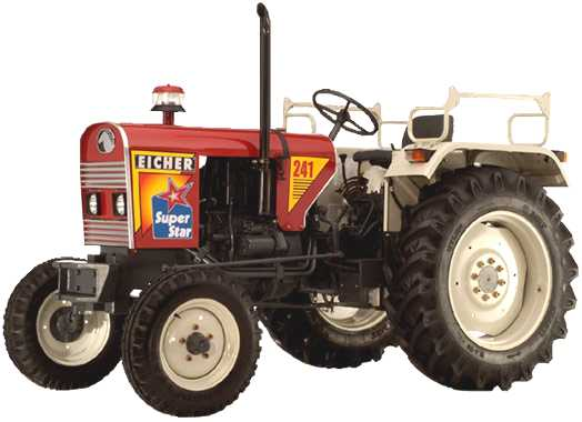 The Eicher_241 mini tractor