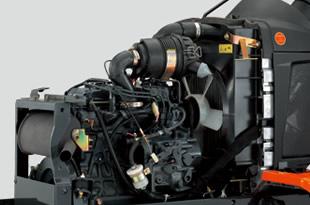 Engine of Kubota BX1870 sub compact tractor