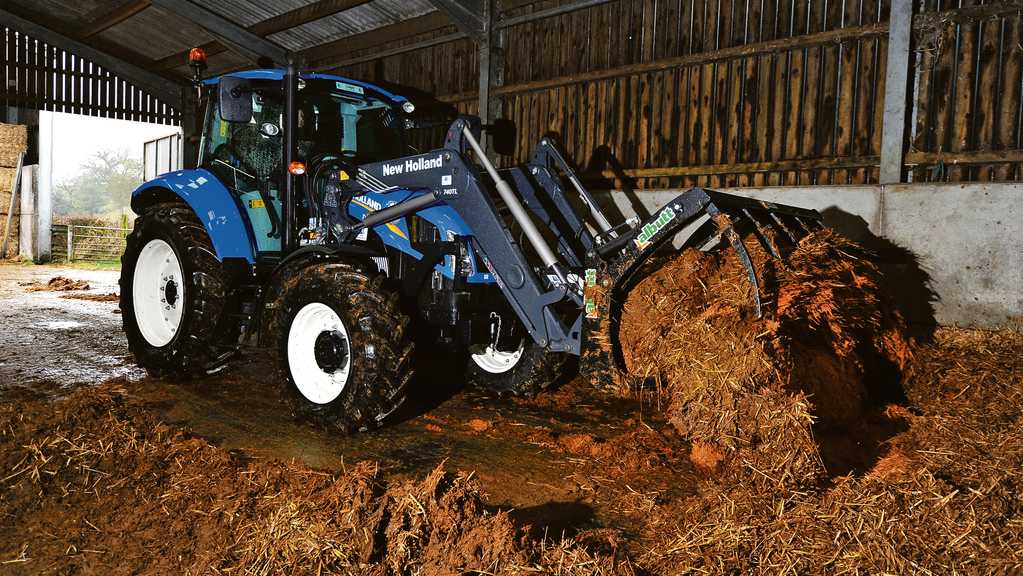 Hydraulic System of New Holland T5.105 Tractor