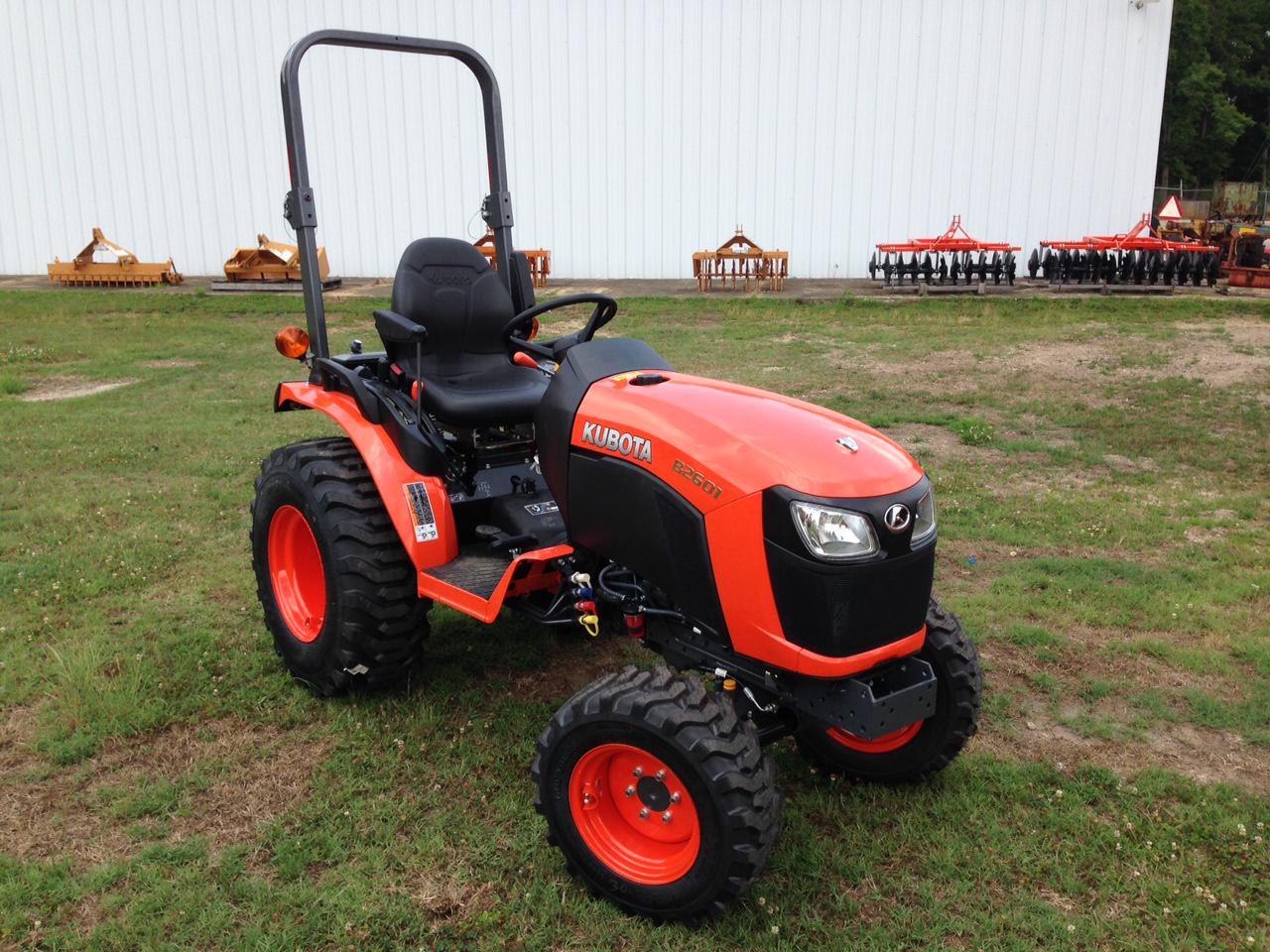 Kubota B2601 Tractor Dimension