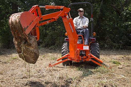 Kubota B2601 Tractor Hydraulic system