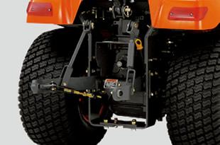Kubota BX1870 Tire Size