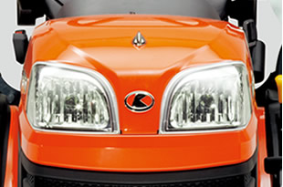 Kubota BX2370 Bright Halogen_Headlights