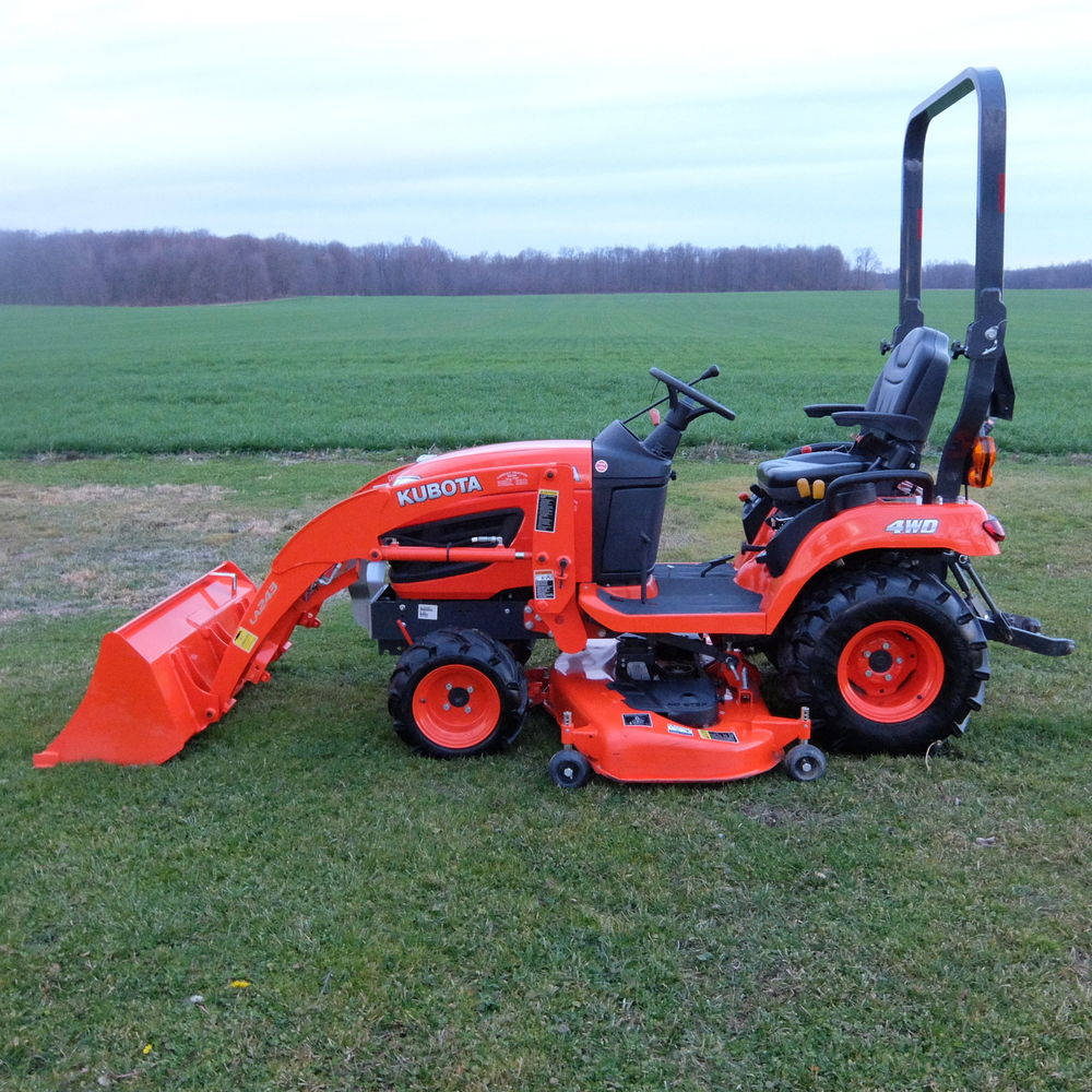 Kubota Mower Accessories : Kubota bx reviews specs attachments price uk images