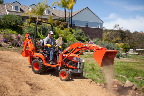 Kubota BX25D Sub-Compact Tractor Hydraulic System