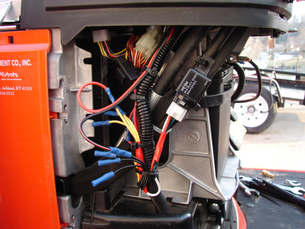 Kubota BX25D tractor Electrical system