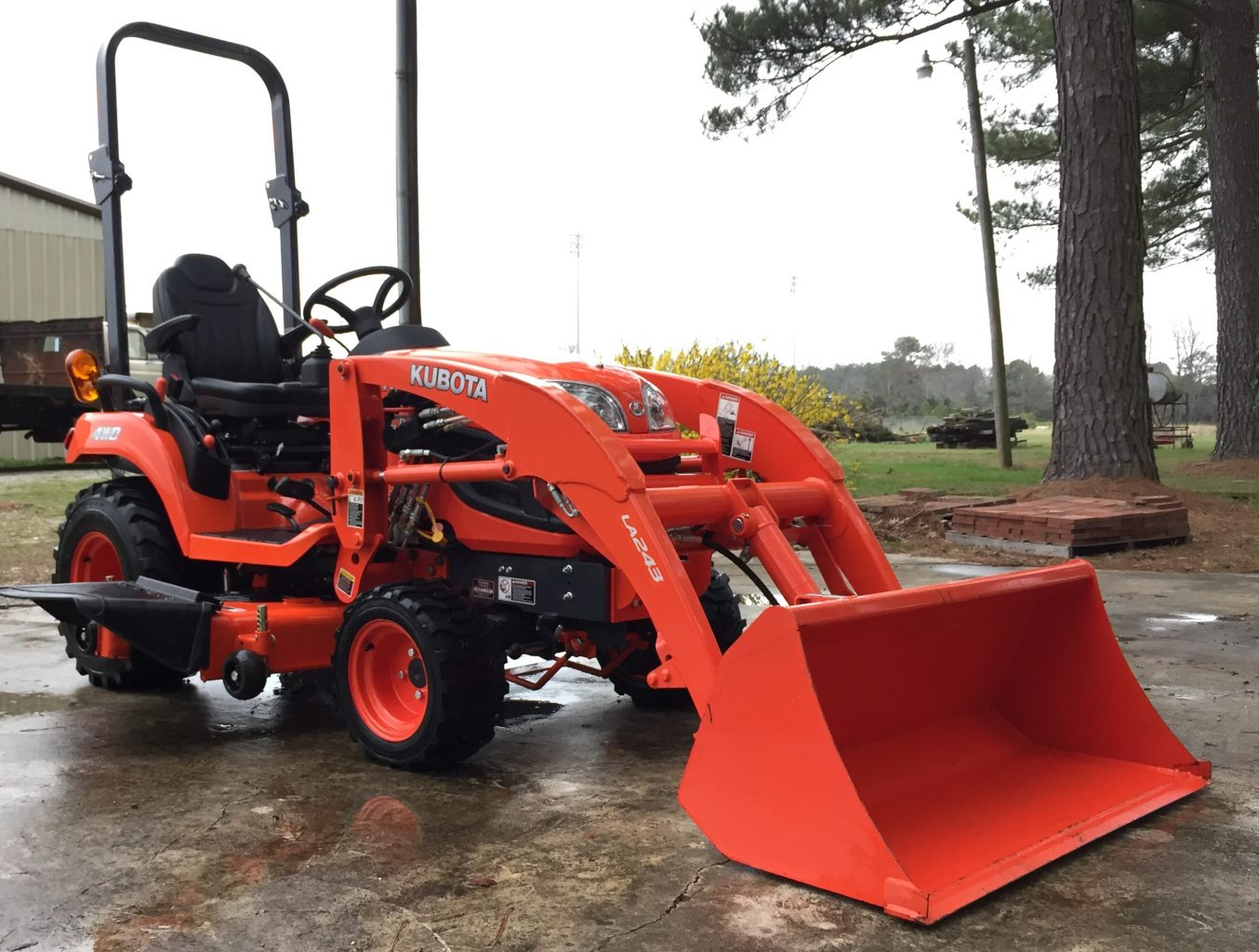Kubota Backhoe Attachment : Kubota bx compact tractor price attachments specs review