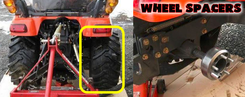 Kubota Bx Wheel Spacers : Kubota bx compact tractor price attachments specs review