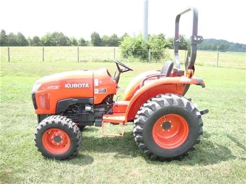 Kubota L3200 Compact Tractor fuel tank capacity