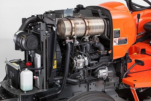 Kubota L3800 Compact Tractor Engine