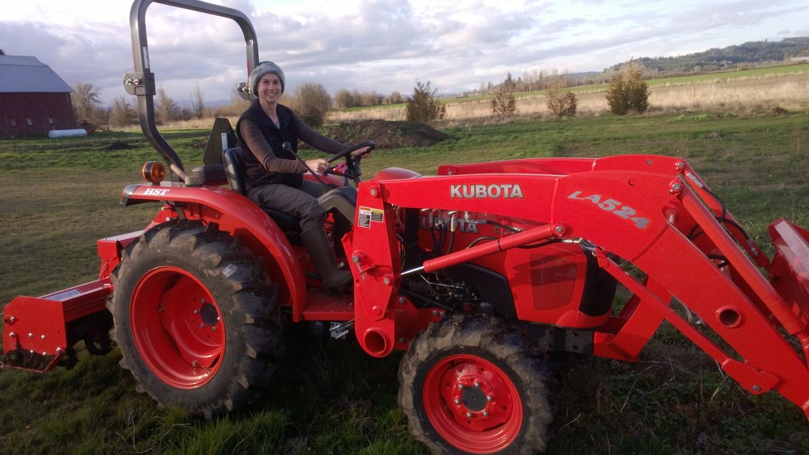 Kubota L3800 Compact Tractor LA524 Front Loader
