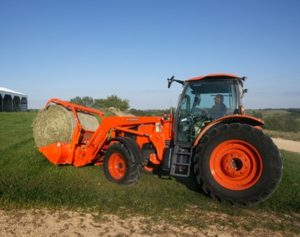 The Kubota M100GX Tractor