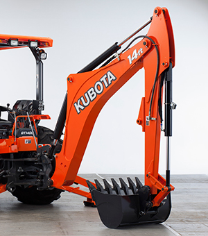 Kubota M62TLB Backhoe Information