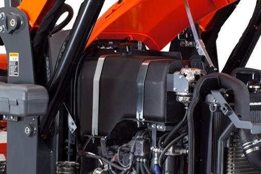 Kubota M62TLB Tractor Fuel Tank Capacity