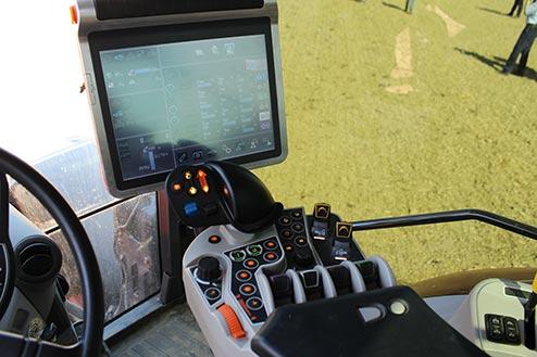 Kubota M7 151 Tractor K monitor pro view