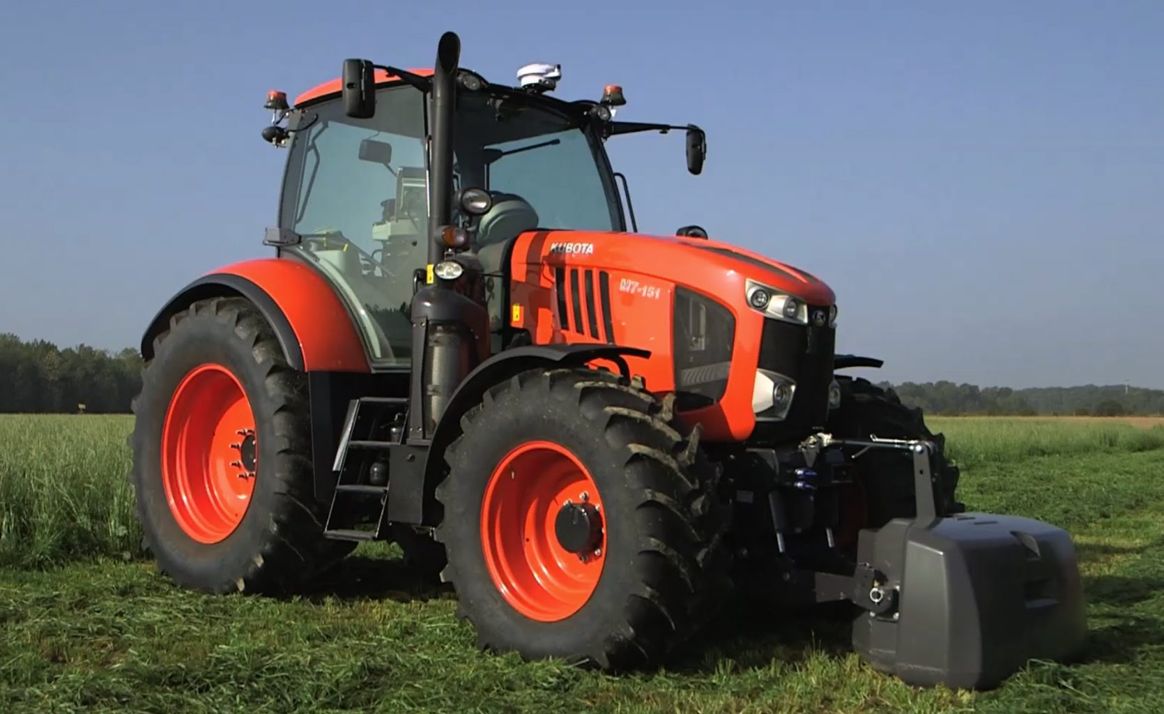 Kubota Tractor M : Kubota m price implements specifications and review