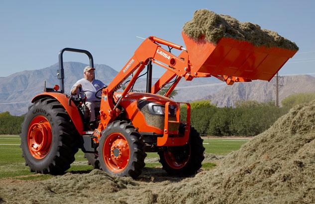 Kubota M7060 Tractor Hydraulic System