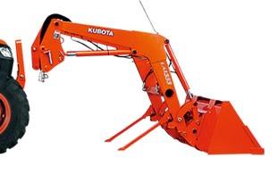 Kubota M7060 tractor Front Loader