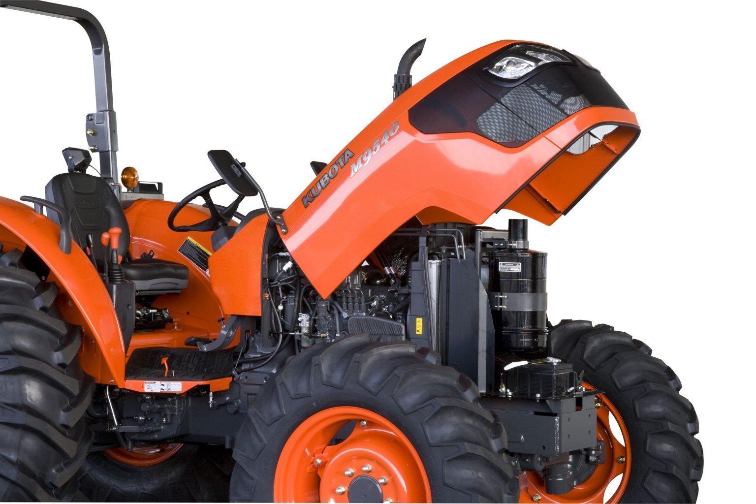 Kubota M9540 Tractor Engine
