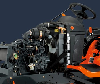 Kubota diesel engine BX25D tractor