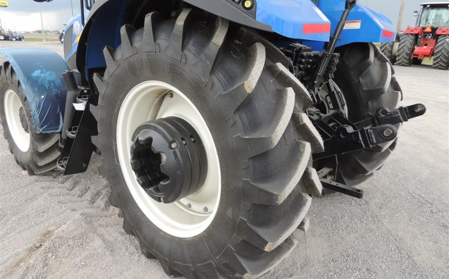 New Holland T5 tractor tire