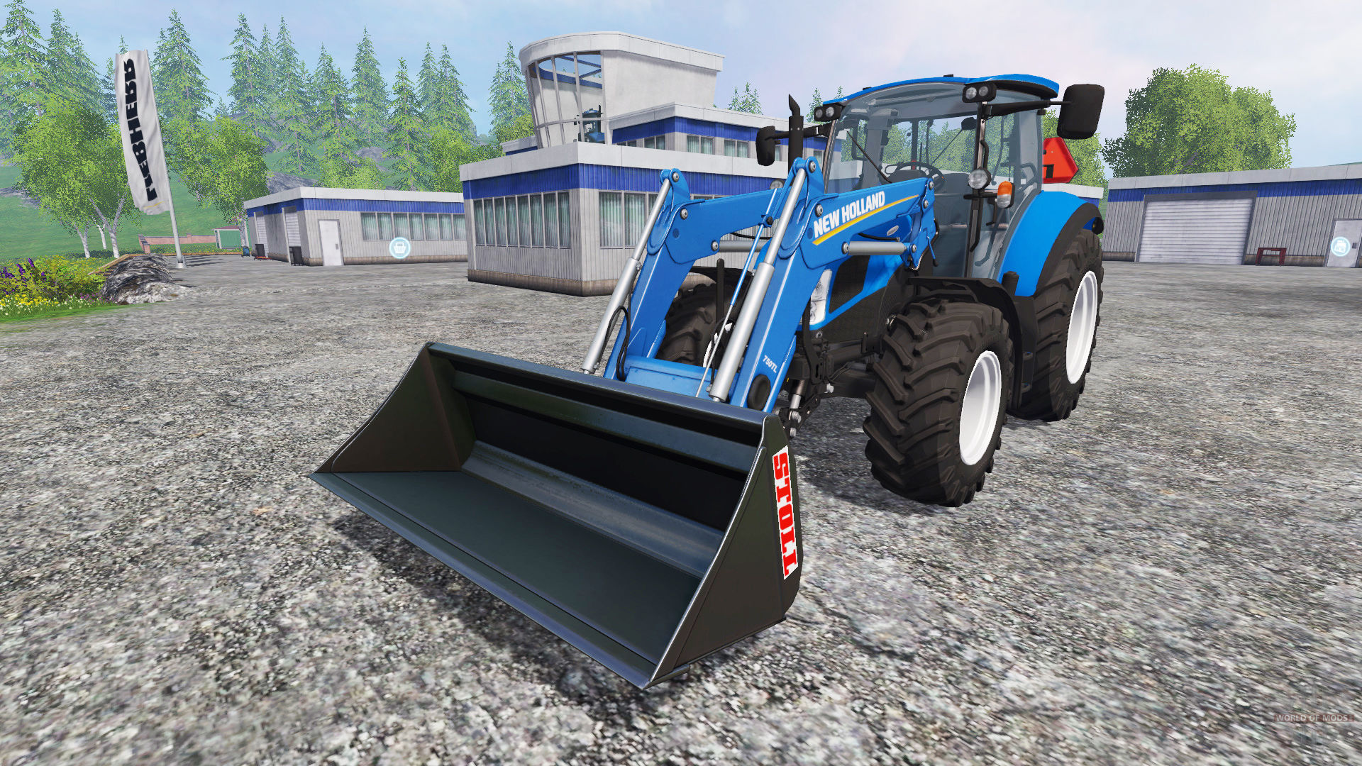 New Holland T5.115 Front Loader