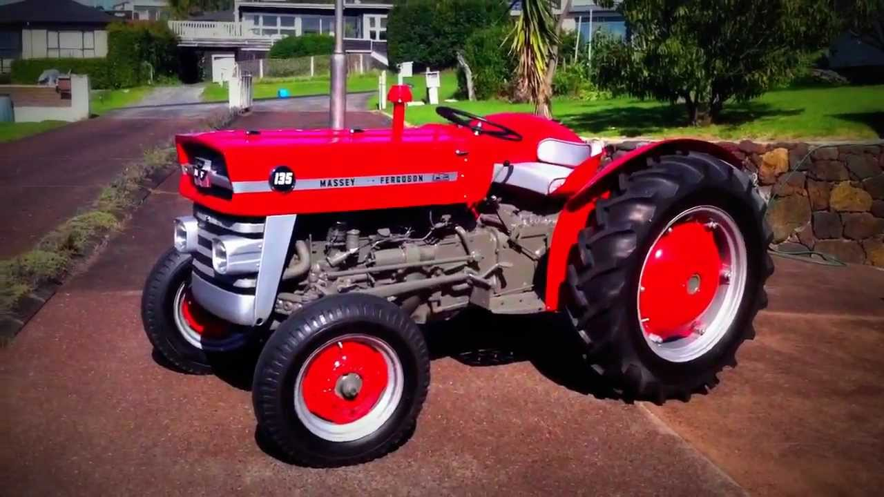 The Massey Ferguson 135 overview