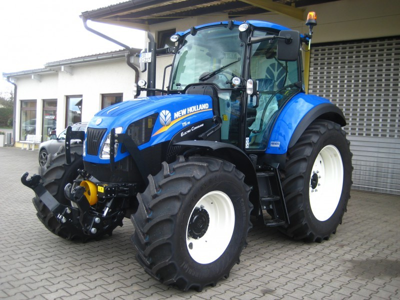 Semi Tractor For Sale >> New Holland T5.115 Electoro Command Tractor Price Specs Review