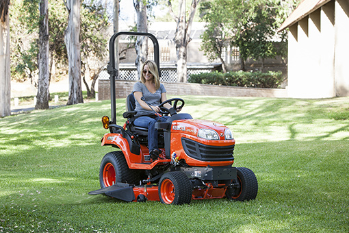 Overview of Kubota BX1870 sub compact tractor