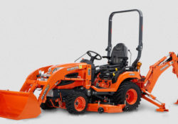 The Kubota BX25D tractor