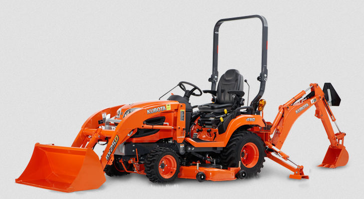Overview Of The Kubota BX25D tractor