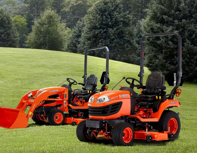 Kubota Sub Compact Tractors : Kubota bx reviews specs attachments price uk images
