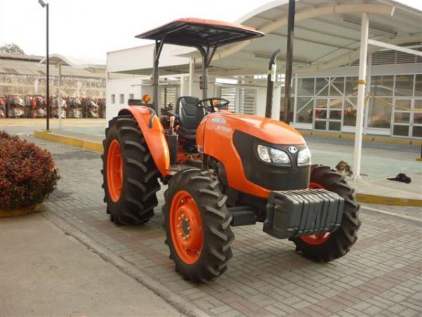 Price of the Kubota M7040 tractor