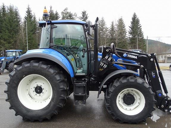 Tire Size New Holland T5.115 Tractor