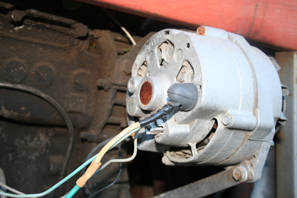 Fine Diesel Tractor Alternator Wiring Diagram Embellishment ...