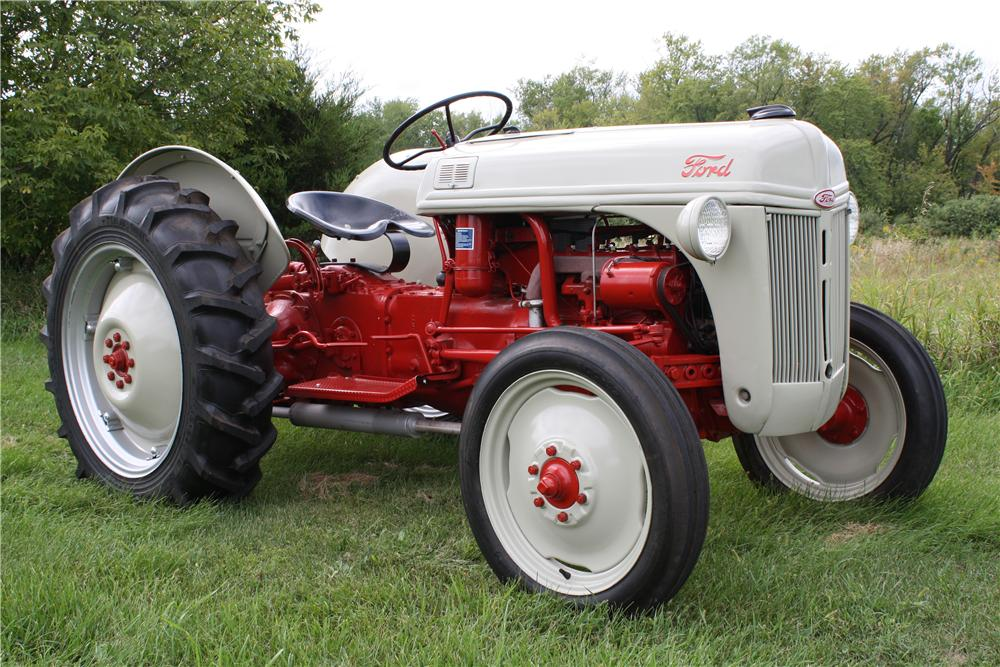 Lovely Ford 8N Tractor Tire