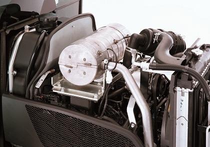 Kubota 3350 Compact Tractor Engine