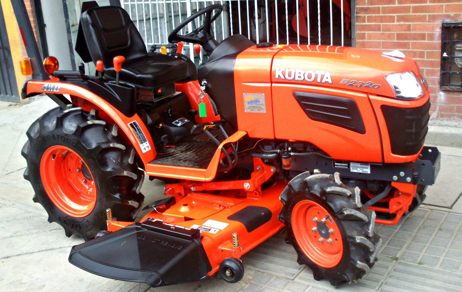 Kubota Belly Mower Decks : Kubota b specs price backhoe loader mower and review